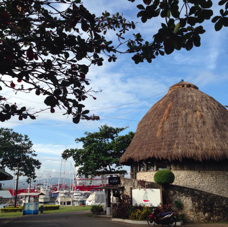 Cebu Yacht Club on Mactan Isalnd